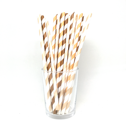 Mix brown straws
