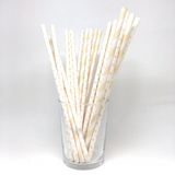 Mix cream straws