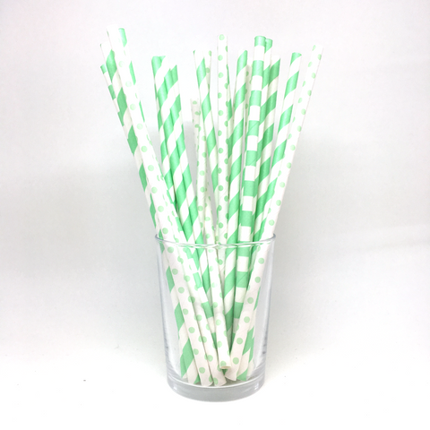 Mix Mint straws