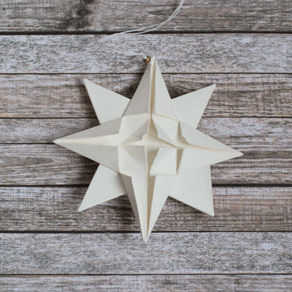 Paper ornaments origami star