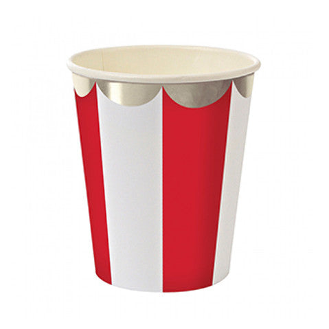 Stripe red cups