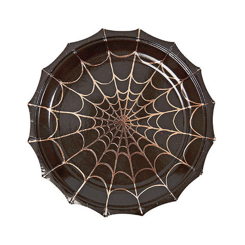 Spider web paper plate (small)