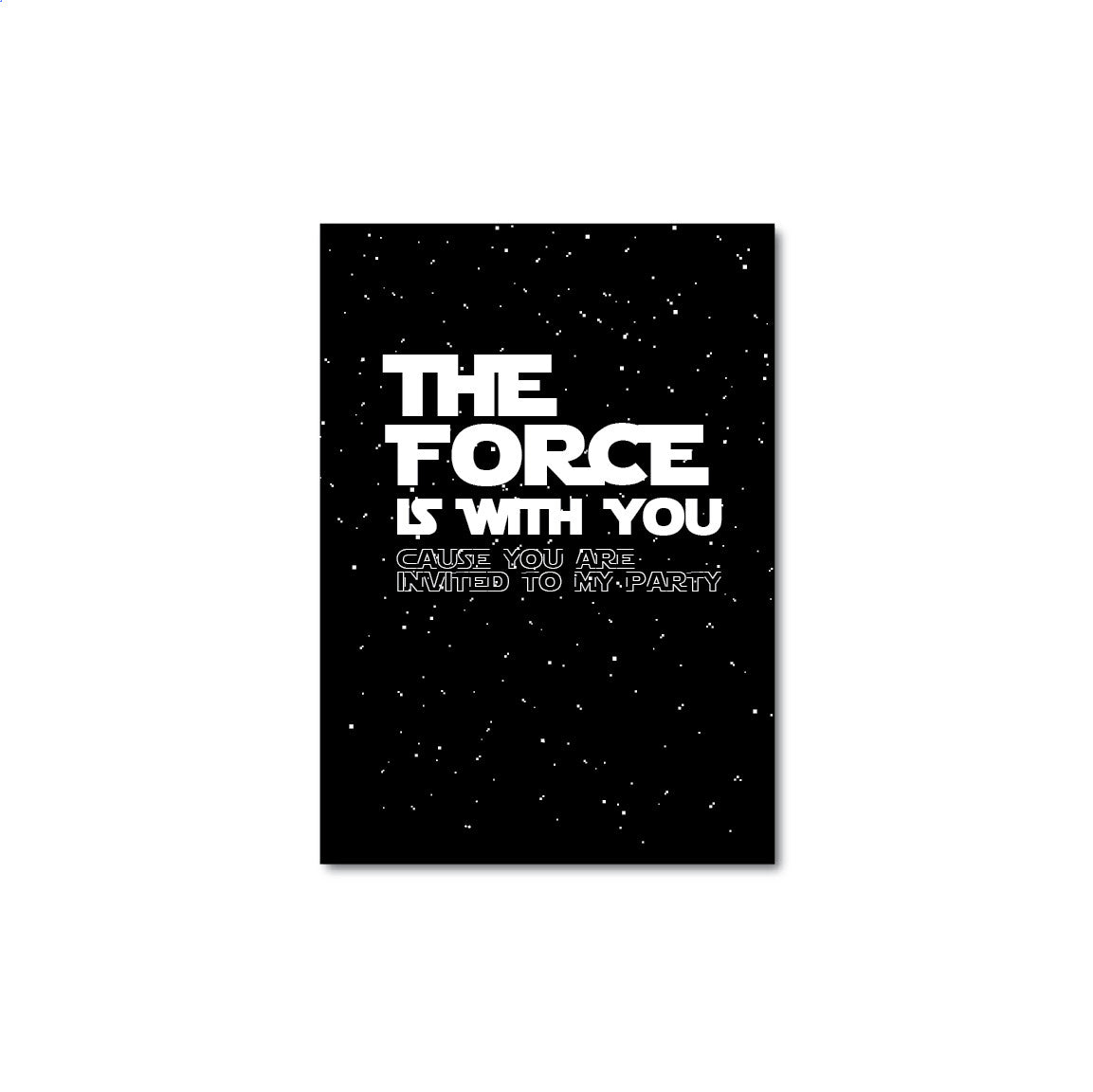 image about Printable Star Wars Invitation named Printable Star Wars Invitation 1 - partystudio