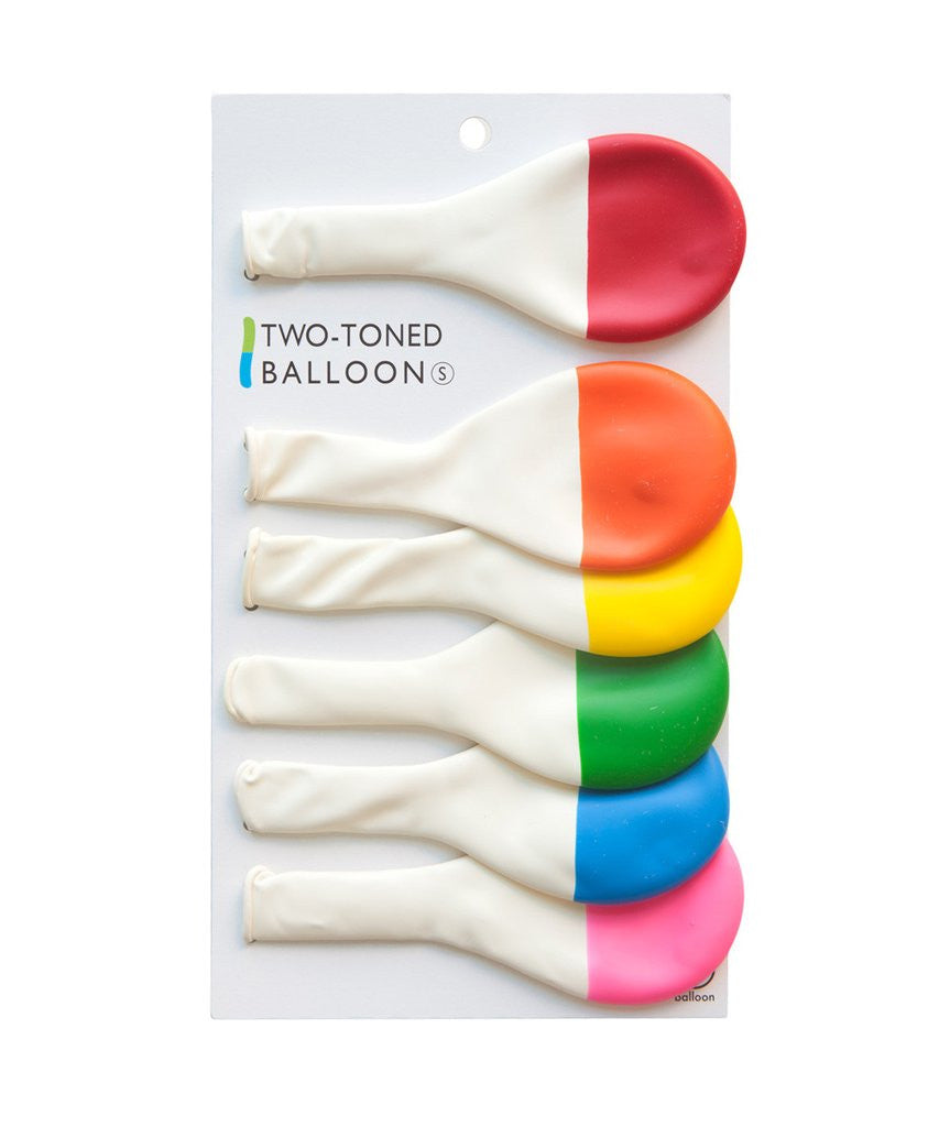 Two toned balloons