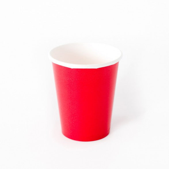 8 red cups