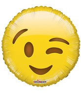 Smiley wink Balloon Emoji