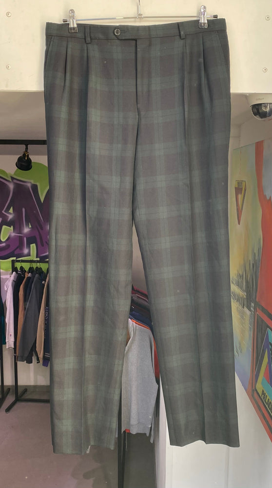 Vintage Striped Burberry Pants XXL