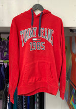 Vintage Tommy Jeans 1985 College Sweatshirt Large