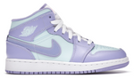 Air Jordan 1 Mid Purple Aqua