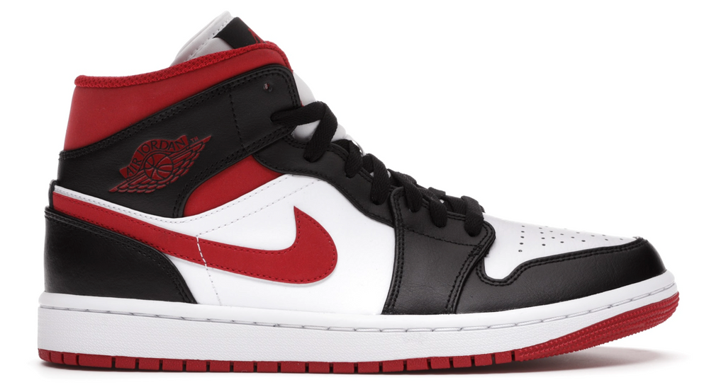 Laad het beeld in de Gallery viewer, Air Jordan 1 Mid Gym Red Black White