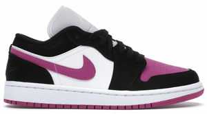 Jordan 1 Low Black Cactus Flower