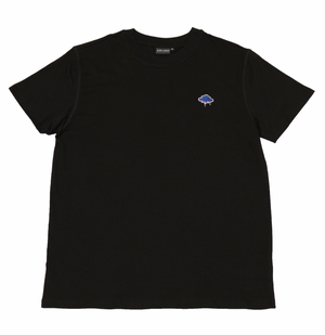 Blurry Images Midnight Black Tee