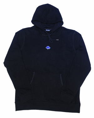 Blurry Images Black Beach Hoodie