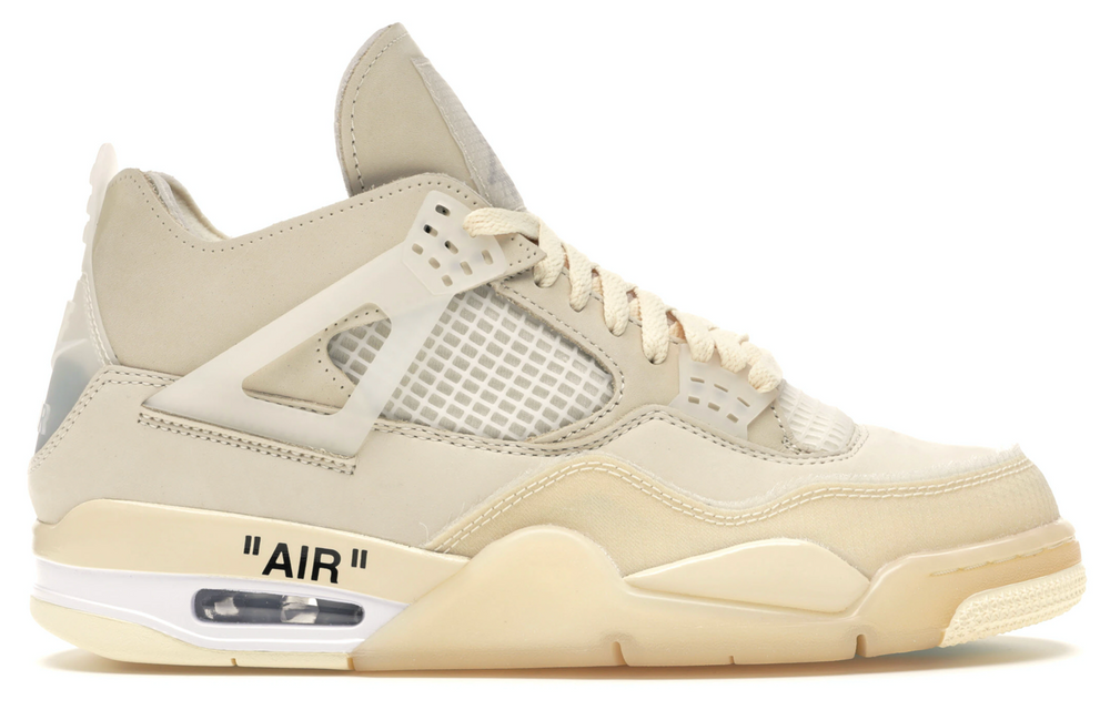 Air Jordan 4 Retro Off-White Sail