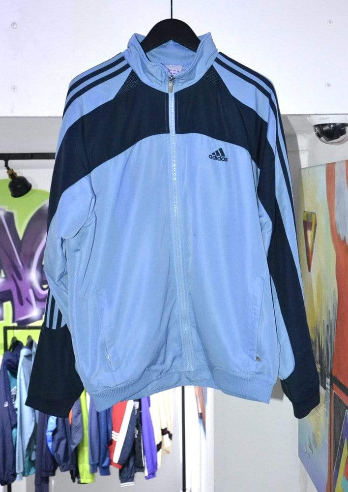 Laad het beeld in de Gallery viewer, Adidas Jackets Vintage Adidas Track Jacket Blue/Navy Large
