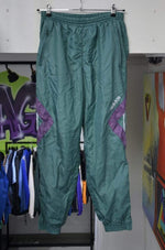 Adidas Pants Vintage Purple/Green Adidas Track Pants XL