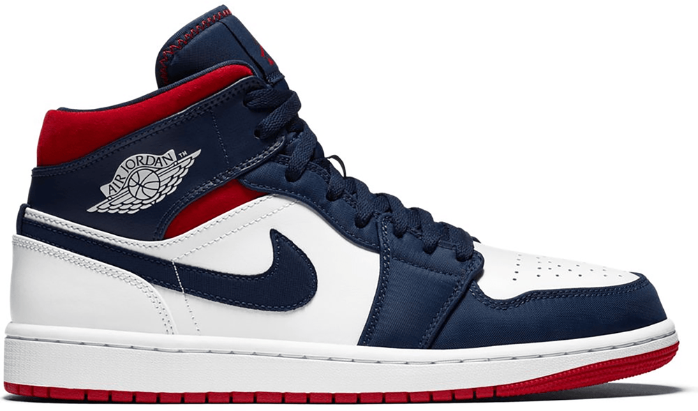 Air Jordan Shoes Air Jordan 1 Mid SE USA
