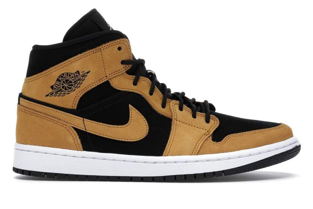 Harlem 82 Shoes Air Jordan 1 Mid Wheat Desert Ochre (W)