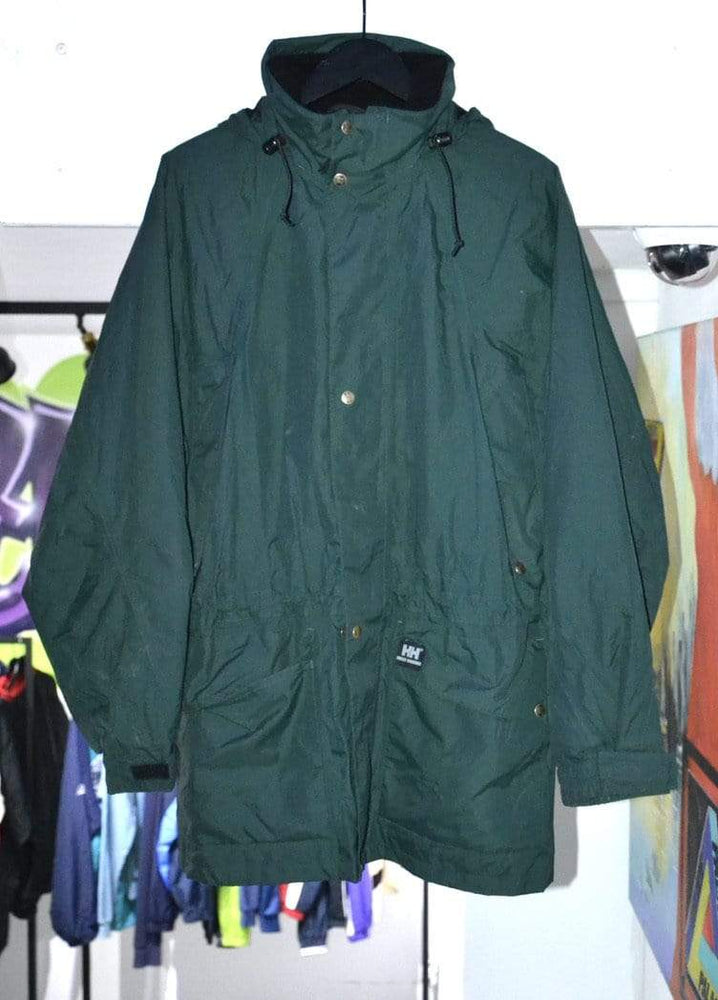 Helly Hansen Jackets Vintage Helly Hansen Dark Green Jacket Medium