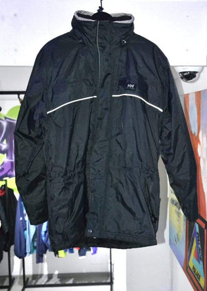 Helly Hansen jacket Vintage Helly Hansen Heavy Jacket Black Medium
