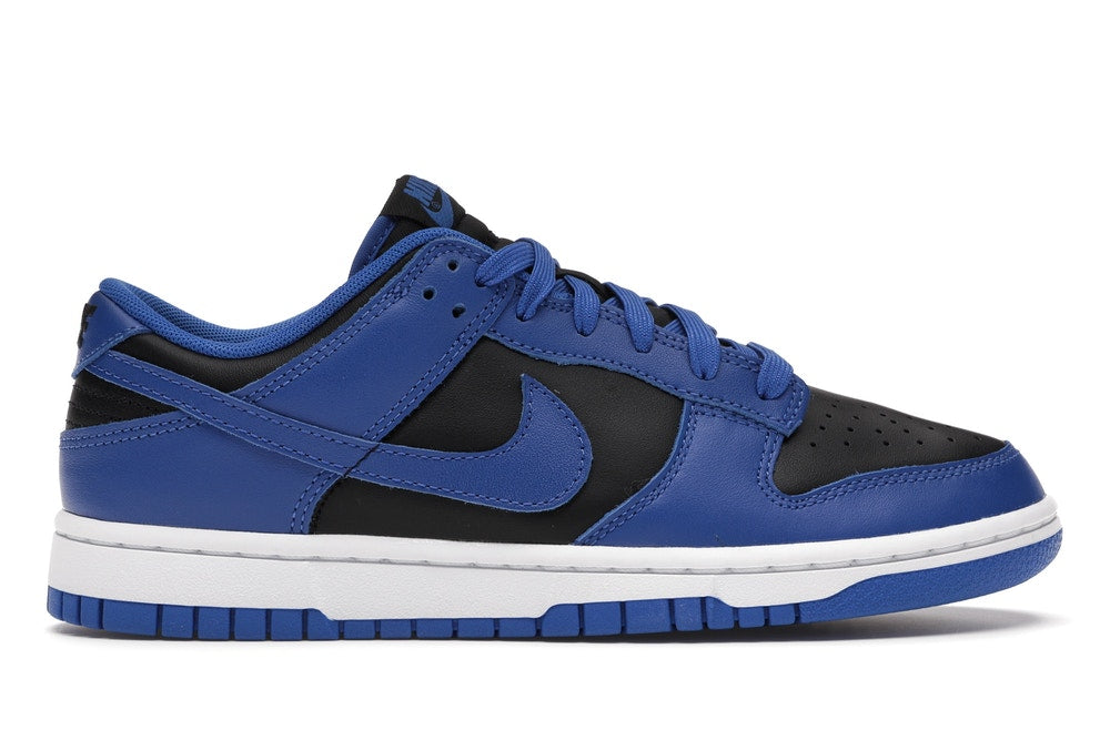 Nike Dunk Low Retro Black Hyper Cobalt