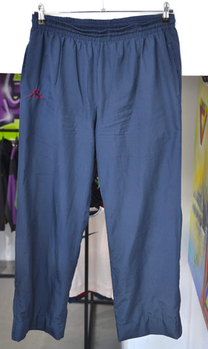Kappa Pants Large Kappa Navy Track Pants