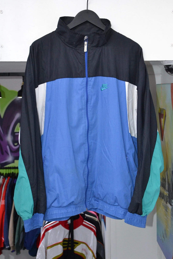 Nike Track Jacket Nike Blue/Green Track Jacket XL