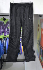 Nike Pants Vintage Nike Track Pants Black/White Medium