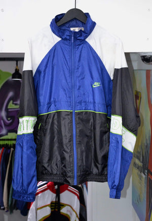 Nike Track Jacket Vintage Nike White/Green Spell Out Track Jacket XL
