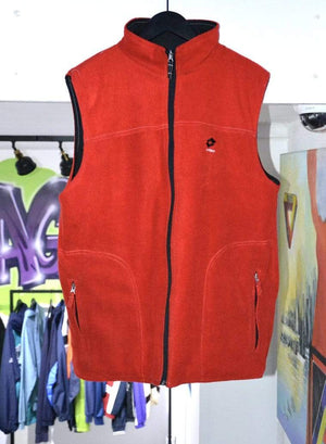 Other Brands Jackets Vintage Lotto Reversible Track Vest Red/Black Large