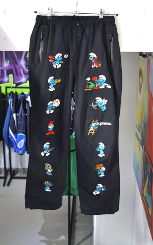 Supreme Pants Small Supreme Smurfs GORE-TEX Black Pants
