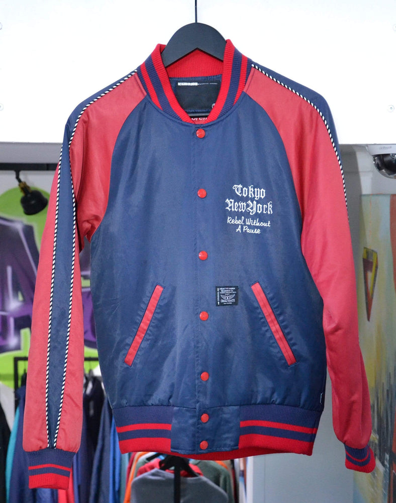 Supreme Jackets Supreme x Neighborhood 2006 Varsity Jacket Red S/M