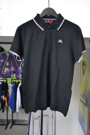 Load image into Gallery viewer, Vintage Polo Extra Large Vintage Kappa Black/Purple Polo