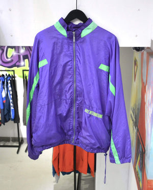 Vintage Jackets Extra Large Vintage Nike International Purple Track Jacket
