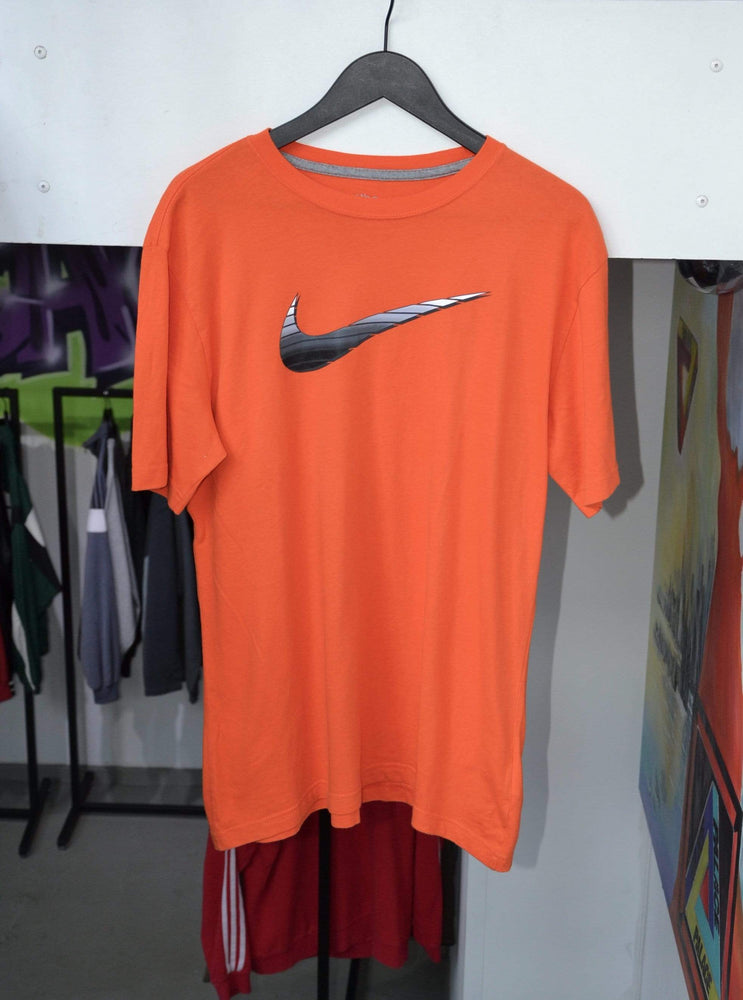 Vintage T-shirt Large Vintage Nike Orange Big Swoosh T-Shirt