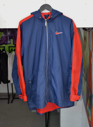 Vintage Jackets Extra Large Vintage Nike Red/Blue Big Swoosh Jacket