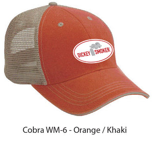 Orange/Khaki Soft Mesh Patch Hat = Free Shipping!