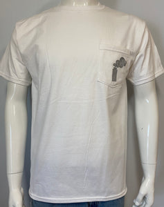 Short sleeve t-shirt White = Free Shipping!