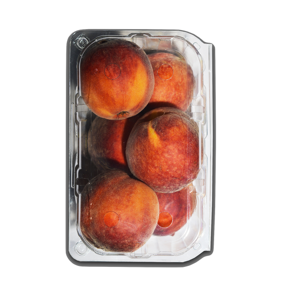 Peach Red Punnet