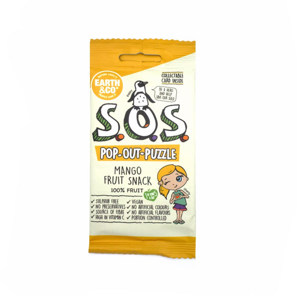 Earth & Co SOS Mango Flavour Fruit Snack 20g