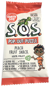Earth & Co SOS Peach Flavour Fruit Snack 20g
