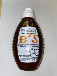 Honey local 500g bottle