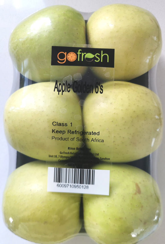 Apple Golden Delicious 6s