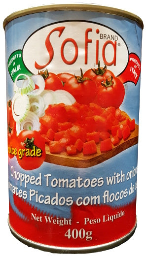 Sofia Chopped Tomato and Onion mix 400g