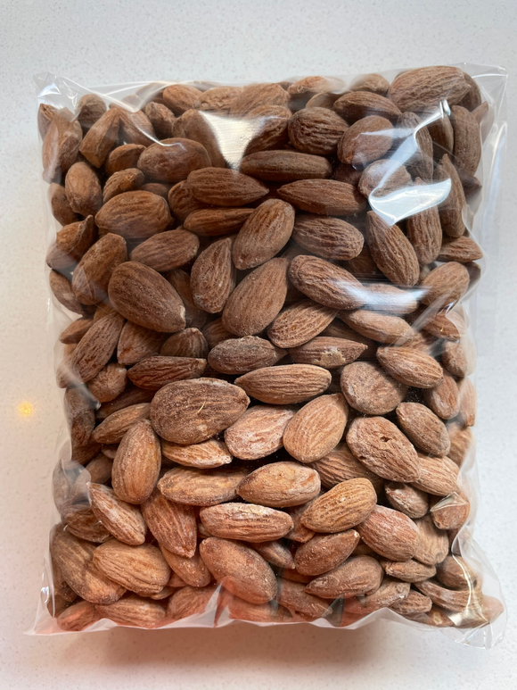 Almonds Roasted and Salted 500g