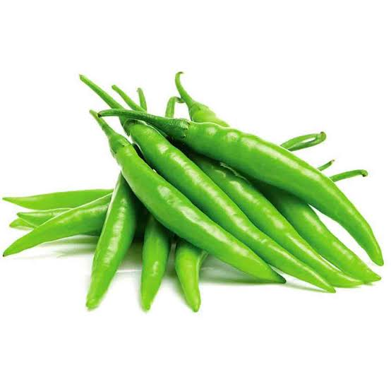 Chillies Green 100g punnet