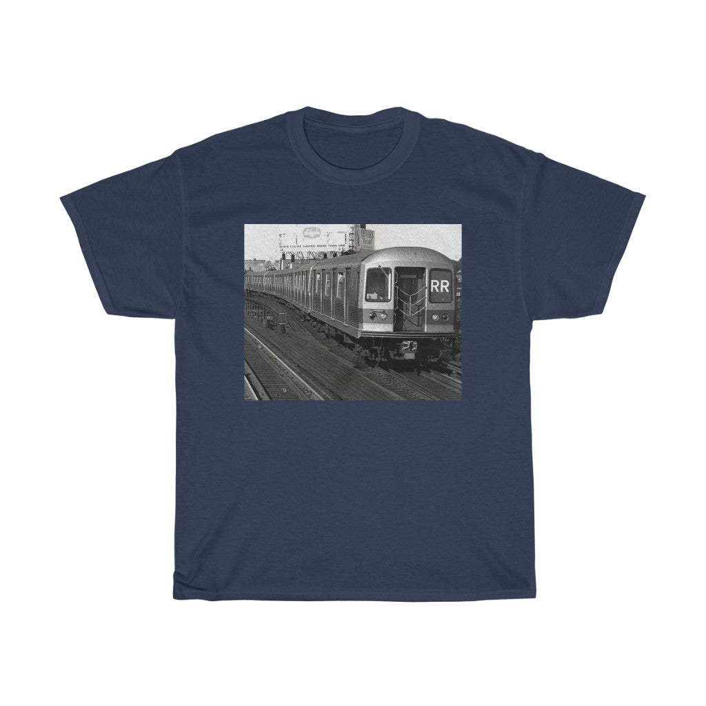 Vintage Brooklyn Train line T-Shirt