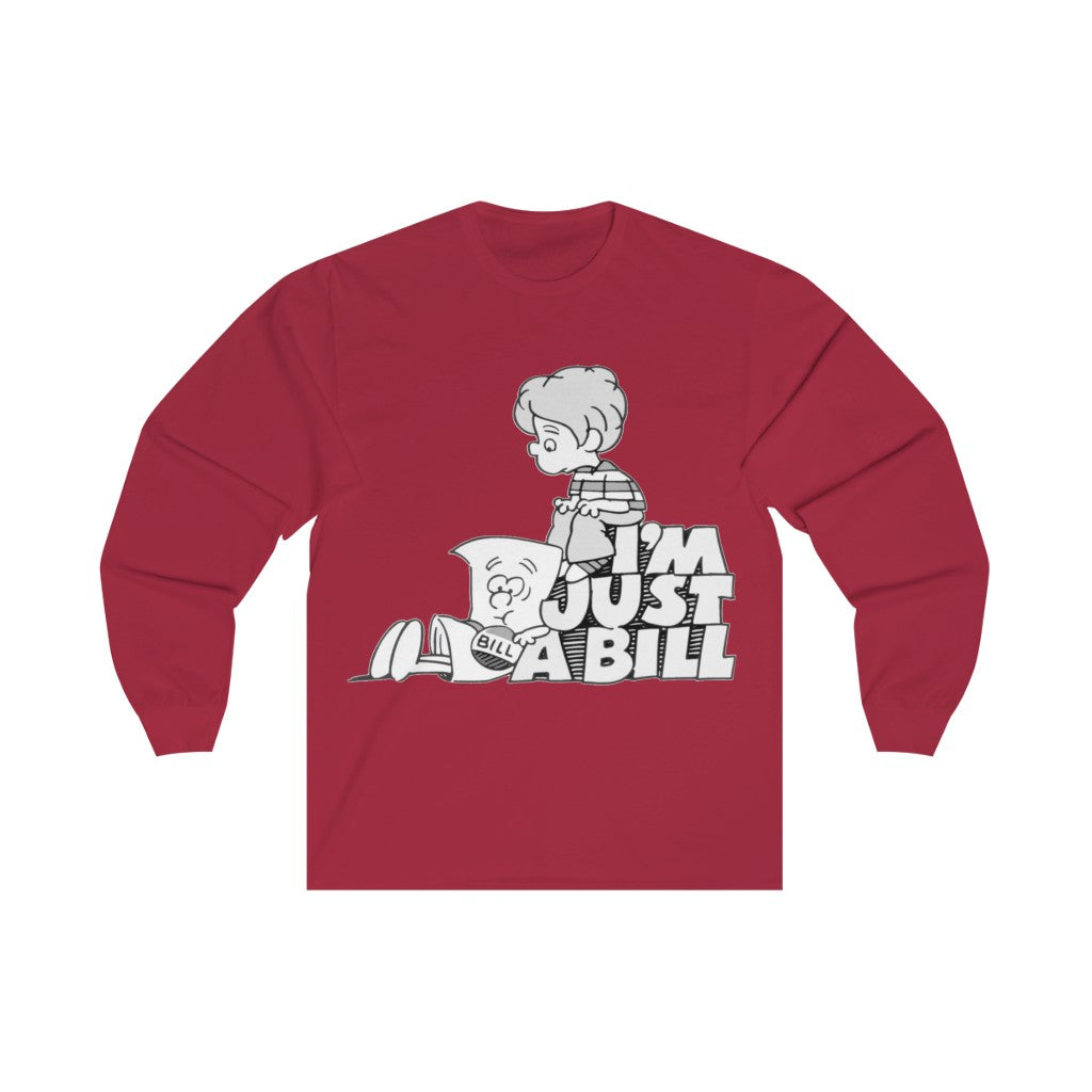 "Schoolhouse Rock! - ""I'm Just a Bill"" Long Sleeve Tee"