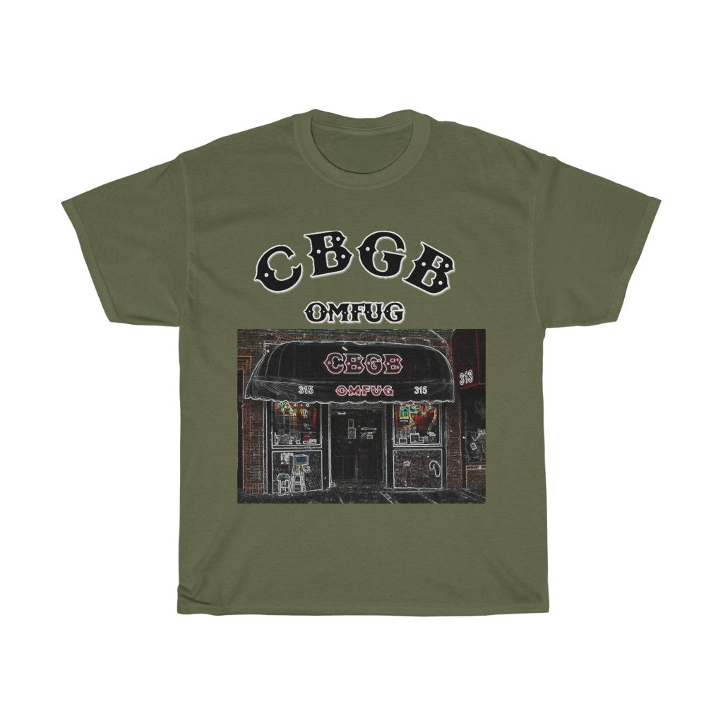 CBGB (OMFUG) NYC Retro Club T-Shirt