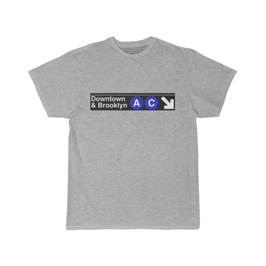 Retro Brooklyn Subway AC T-Shirt
